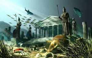затонувший остров